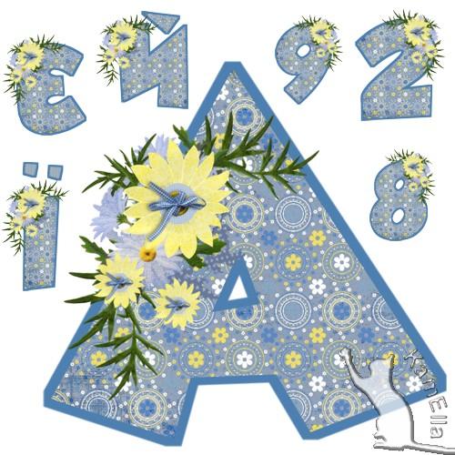Український алфавіт ніжний