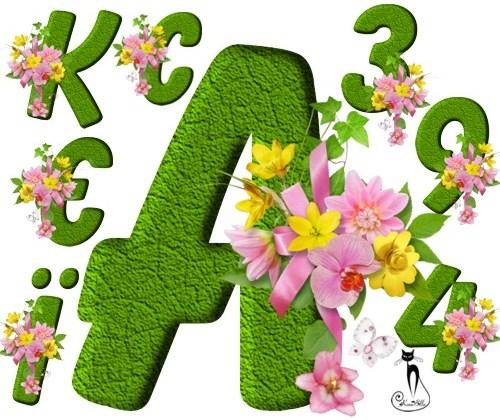 Український алфавіт весняний