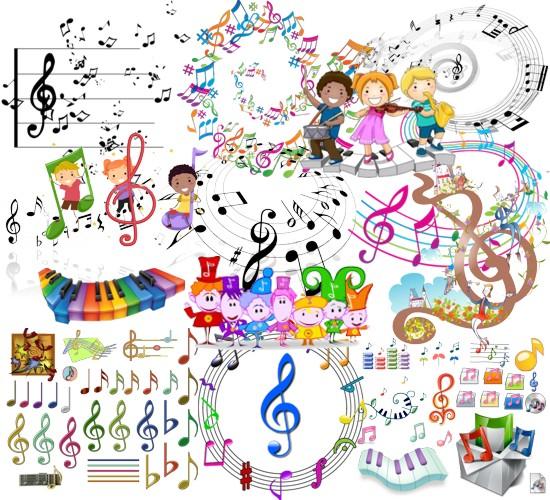 Музика, ноти png