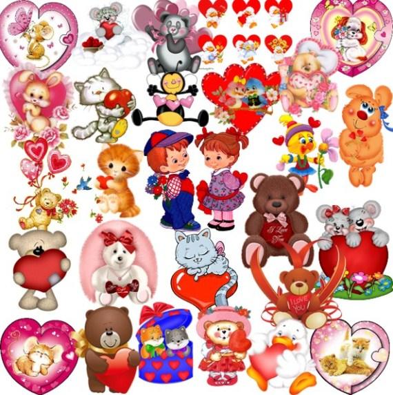 Дитячі валентинки png