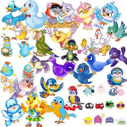 Намальовані пташки