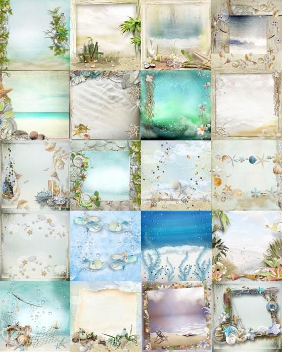 Морські фони