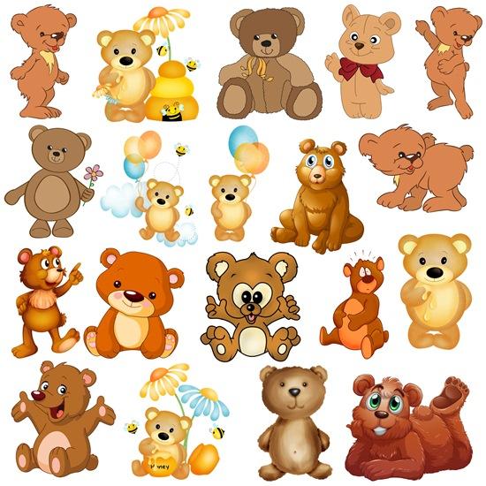 Ведмедики png
