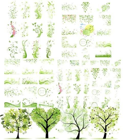 Весняна зелень png