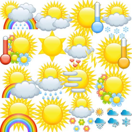Сонце, погода png