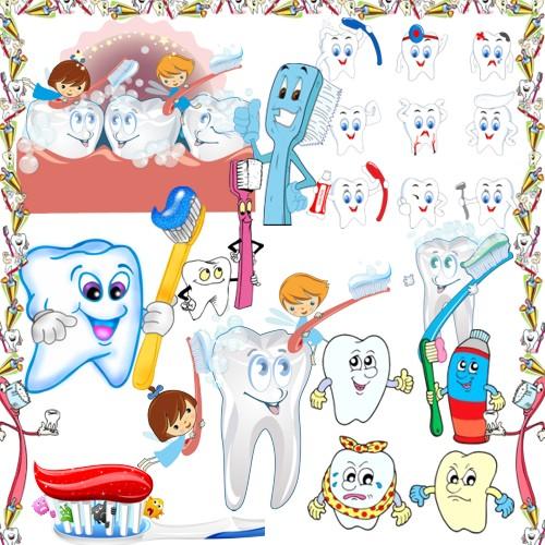 Чисті зубки - особиста гігієна png