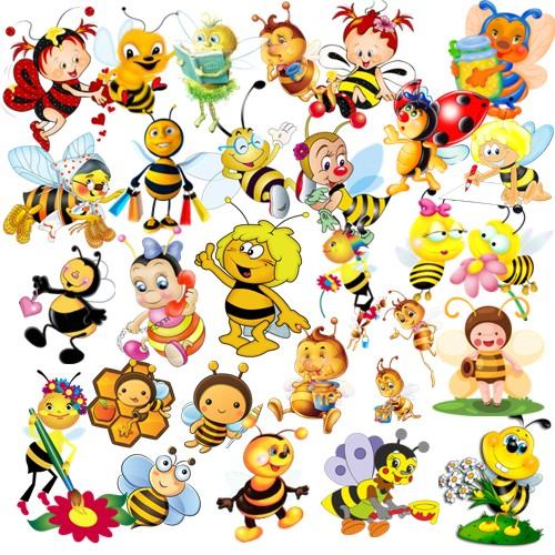 Бджілки png