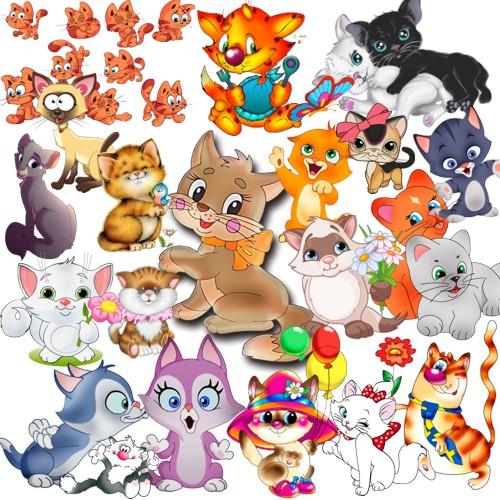Котики png