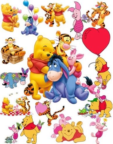 Вінні Пух та його друзі png