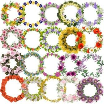 Рамки з квітів