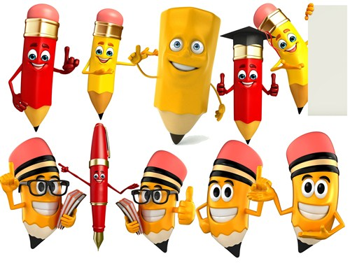Веселі олівці