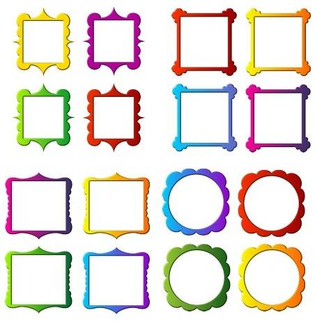 Фігурні рамочки png