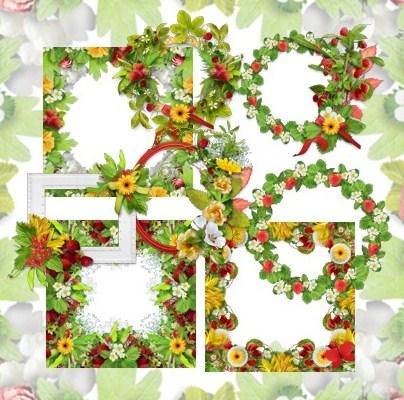 Рамки з ягодами